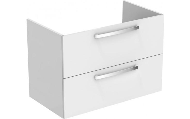 Nábytek skříňka pod umyvadlo Ideal Standard Tempo 800x550x440 mm vysoce lesklý lak - bílý