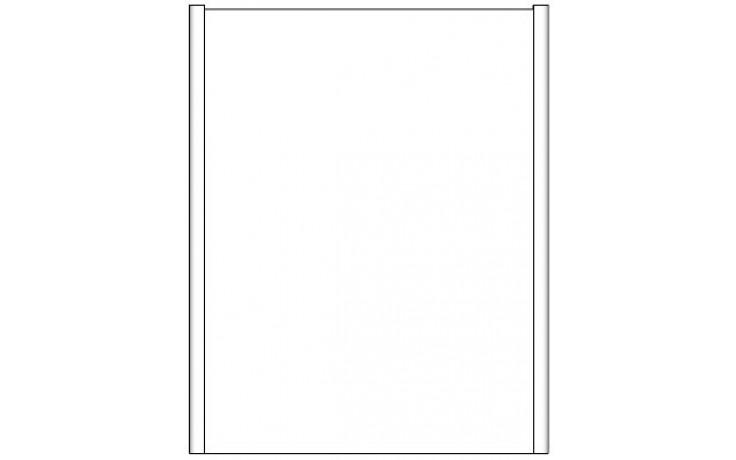CONCEPT 600 zrcadlová skříňka 60xx15x75cm šedá C600.G60SG