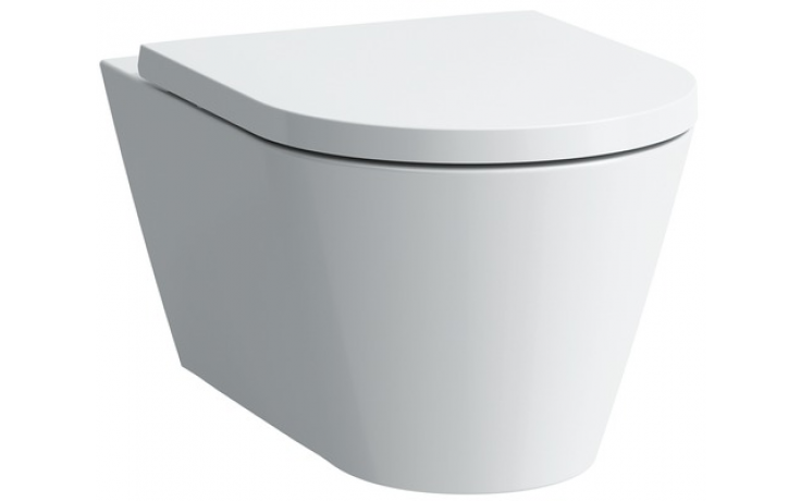 LAUFEN KARTELL BY LAUFEN závěsné WC 370x545mm hluboké splachování černá lesklá 8.2033.1.020.000.1