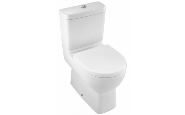WC kombinované Kohler odpad vario Reach pouze mísa 60x36,5cm bílá
