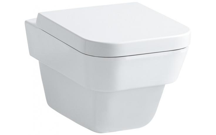 WC závěsné Laufen odpad vodorovný Moderna Plus  bílá
