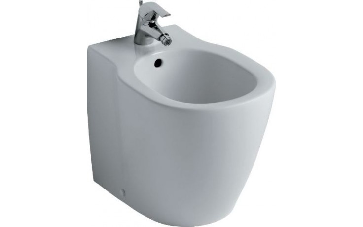 Bidet Ideal Standard 1-otvorový Connect bílá