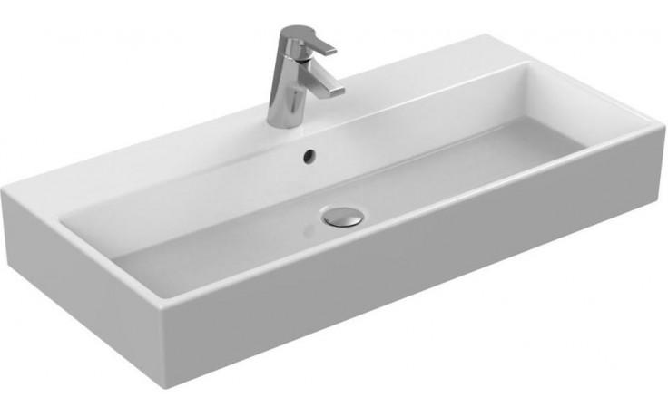 Umyvadlo klasické Ideal Standard s otvorem Strada  91x42 cm bílá