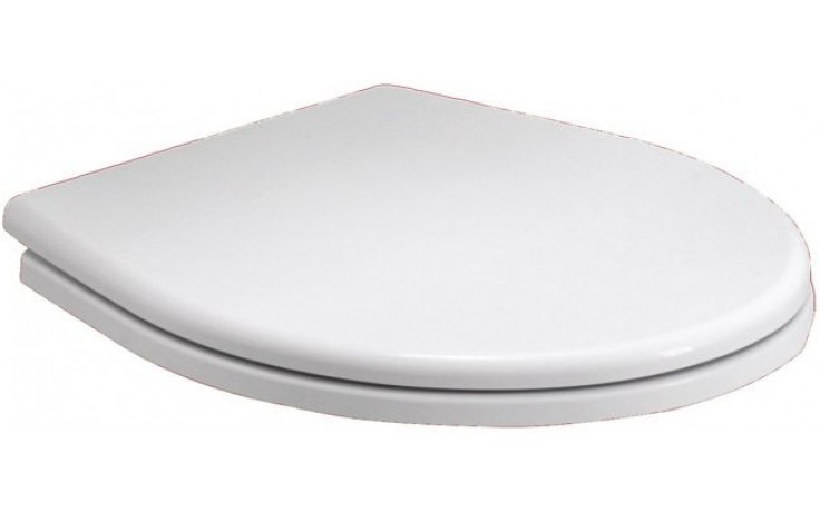 Sedátko WC Kolo duraplastové s kov. panty Rekord  bílá