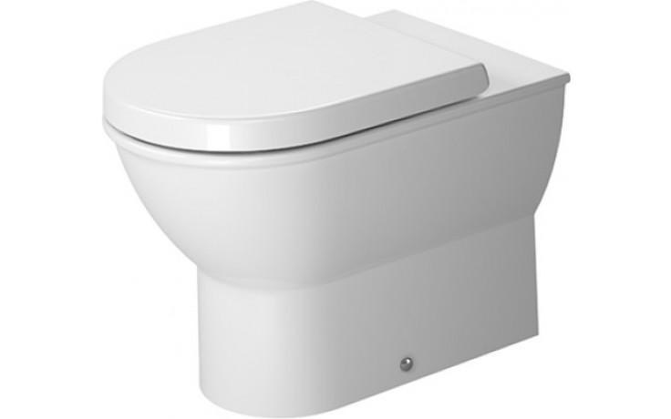WC stacionární Duravit odpad vodorovný Darling New s hlub. splach. bez nádrže 37x57 cm bílá