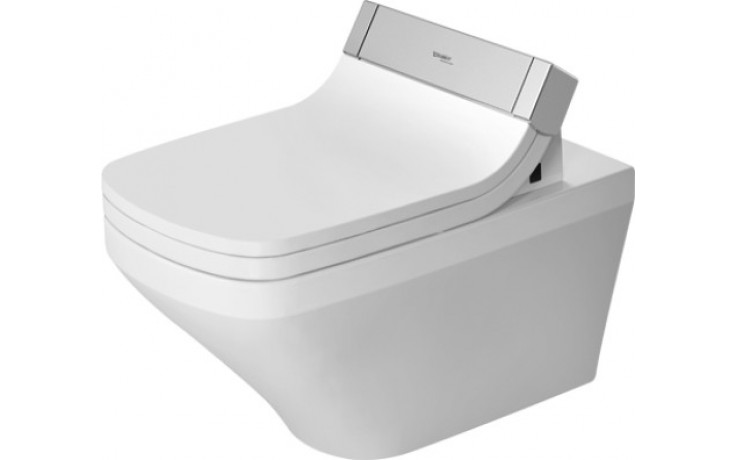WC závěsné Duravit odpad vodorovný SensoWash DuraStyle 37x62 cm bílá