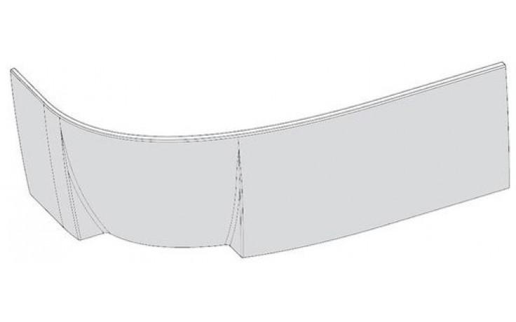 RAVAK ROSA 95 R panel A 1600mm čelní, pravý, snowwhite