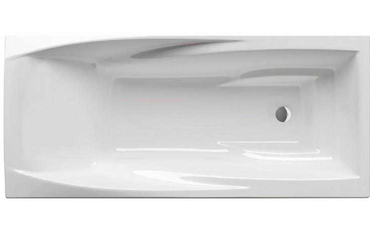 RAVAK YOU vana 1750x850mm akrylátová, obdélníková, bez přepadu, snowwhite C791200000