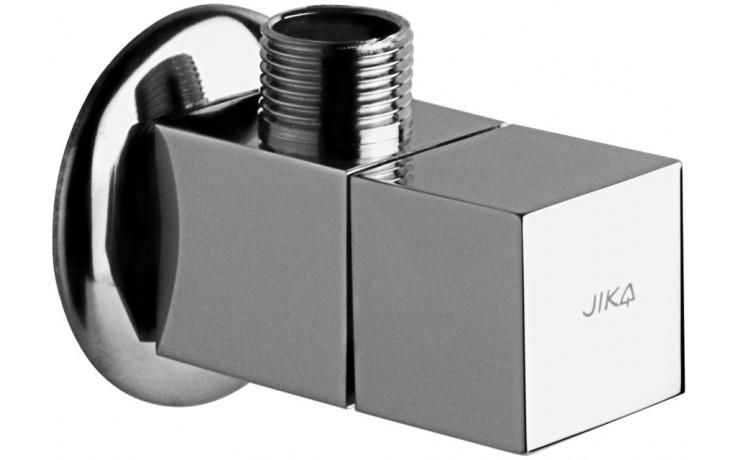"JIKA CUBITO rohový ventil 3/8"" - 1/2"" chrom 3.7242.0.004.010.1"