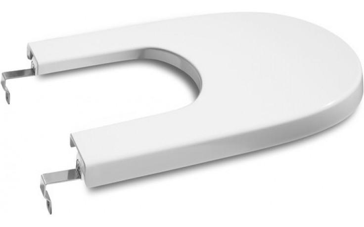 ROCA MERIDIAN poklop bidetu Compact, odnímatelný, s antibakteriální úpravou, Slowclose, s nerezovými úchyty, bílá 78062AC004