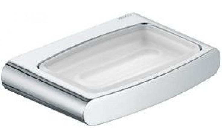 KEUCO ELEGANCE miska na mýdlo 140x100mm, chrom/sklo