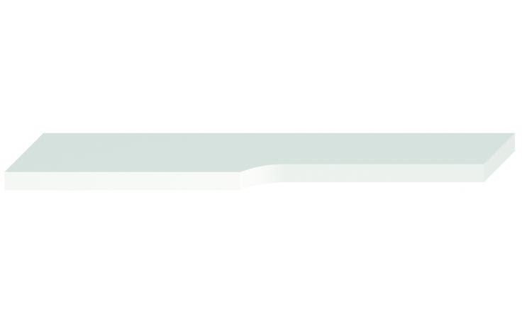 JIKA MIO polička pod zrcadlo 640x145x25mm bílá 4.3423.1.171.500.1