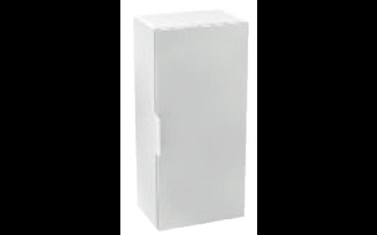 JIKA CUBE skříňka 345x250x800mm, střední, bílá/bílá