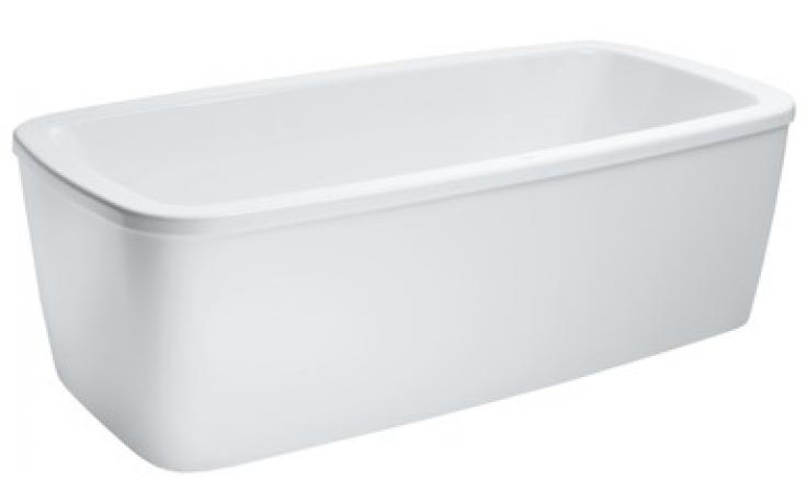 Vana plastová Laufen - Palomba samostatně stojící s konstrukcí 180x90 cm bílá