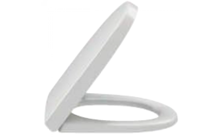 Sedátko WC Kohler duraplastové s kov. panty Reach slow-close  bílá