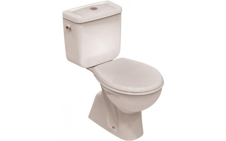 WC kombinované Ideal Standard odpad svislý Eurovit smontovaný  bílá