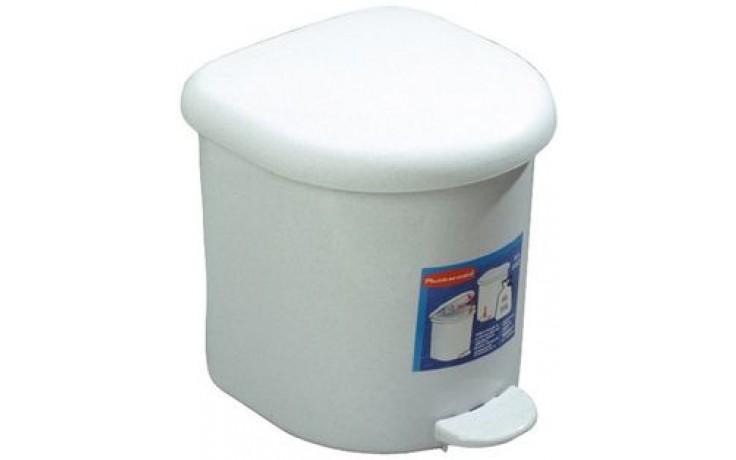 AZP BRNO Z 105 odpadkový koš 6l, nášlapný, plast