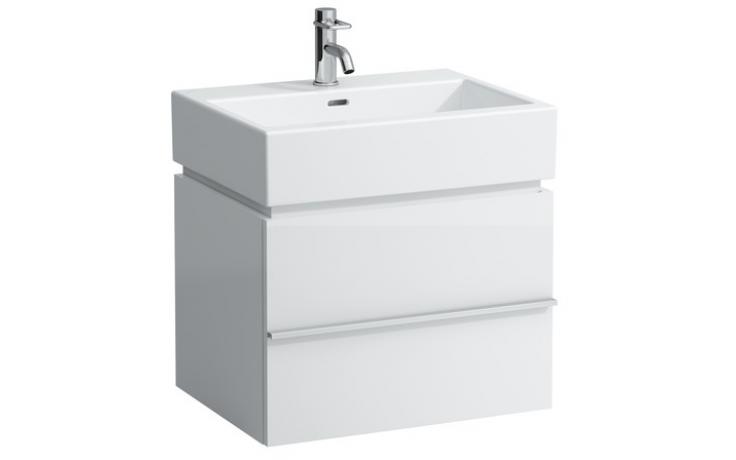 LAUFEN CASE skříňka pod umyvadlo 595x455x455mm s 1 zásuvkou, antracitový dub 4.0118.1.075.548.1