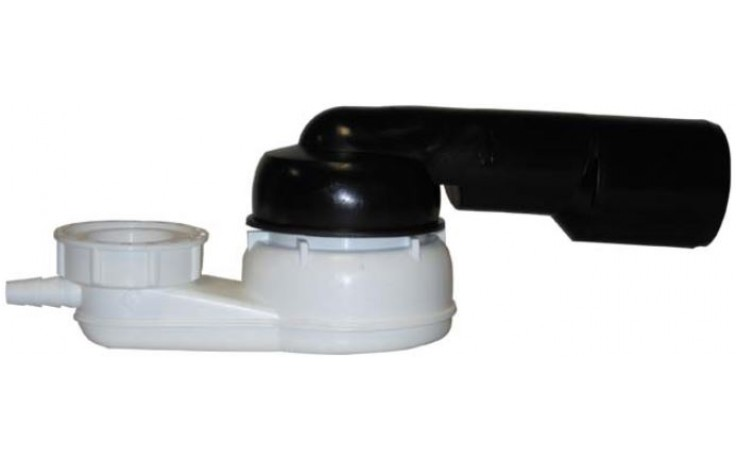 HL odpadní souprava DN40/50 vanová, s přepadem, mosaz/polypropylen/polyethylen