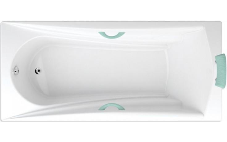TEIKO ETNA vana obdélníková 180x80x45cm akrylátová, bílá
