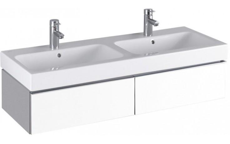 Nábytek skříňka pod umyvadlo Keramag iCon 119x24x47,7 cm bílá lesklá (Alpin)