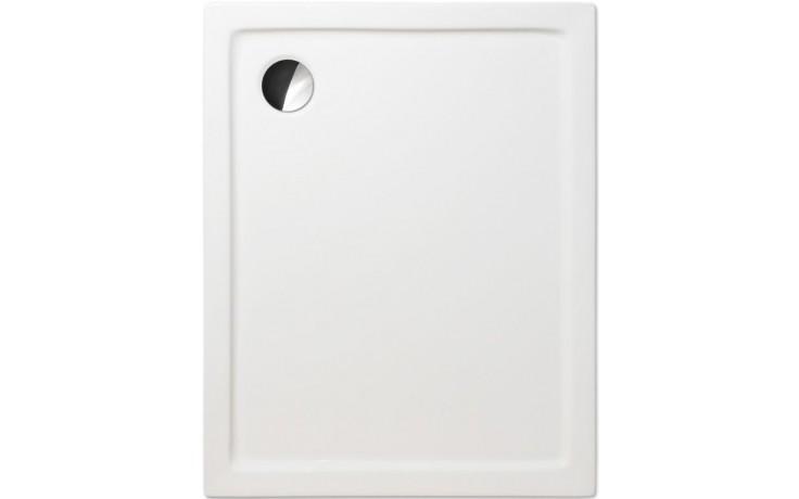 ROLTECHNIK FLAT KVADRO sprchová vanička 1000x800x50mm akrylátová, obdélníková, bílá