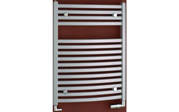 P.M.H. MARABU MSM2 koupelnový radiátor 600x783mm, 366W, metalická stříbrná