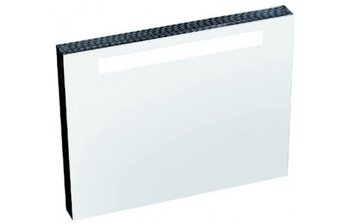 RAVAK CLASSIC 700 zrcadlo 700x550x70mm se zářivkou a el. zásuvkou, bílá X000000353
