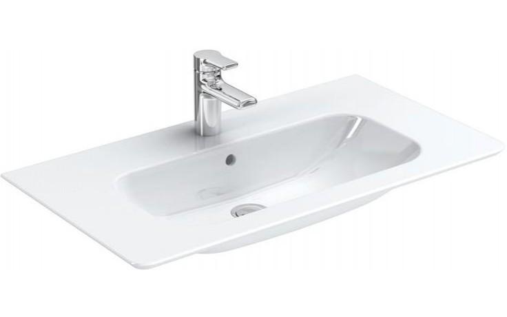 Umyvadlo nábytkové Ideal Standard s otvorem SoftMood 84x46 cm bílá