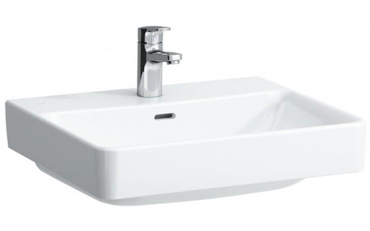 LAUFEN PRO S umyvadlo 550x465mm bez otvoru, bílá