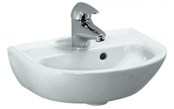 Umývátko klasické Laufen s otvorem Pro B 40 cm bílá-LCC
