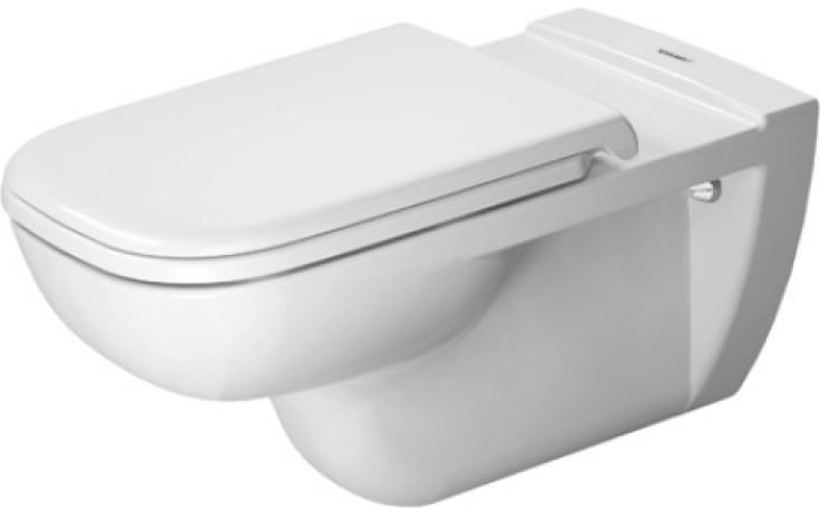 DURAVIT D-CODE závěsný klozet 360x700mm bílá 22280900002