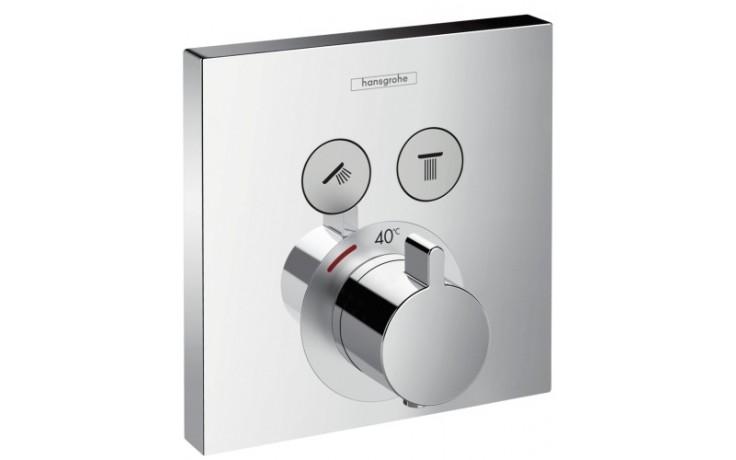 HANSGROHE SHOWERSELECT termostatická baterie pod omítku chrom 15763000