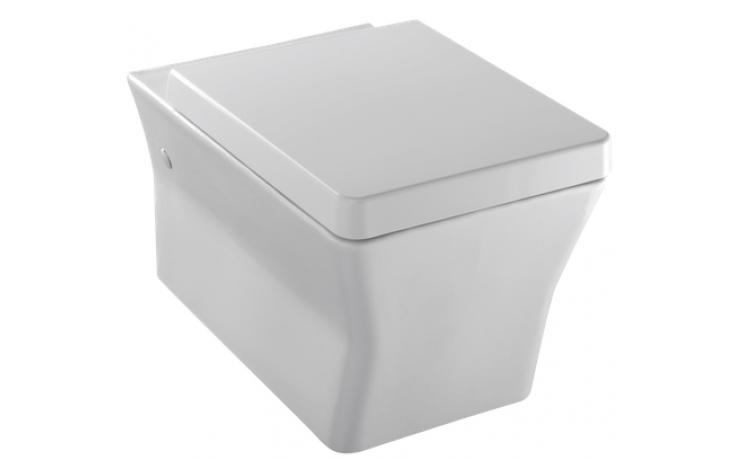 WC závěsné Kohler odpad vodorovný Reve se sedátkem soft close 56x36,5 cm White