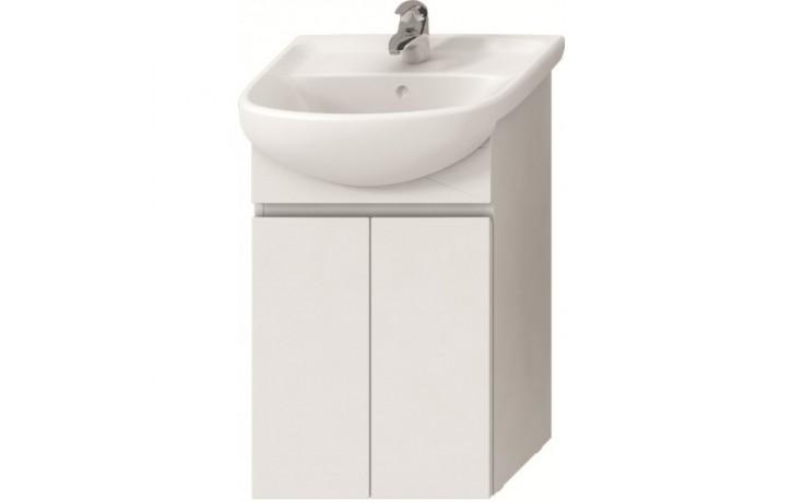 Nábytek skříňka pod umyvadlo Jika Lyra 50 cm bílá-bílý lak