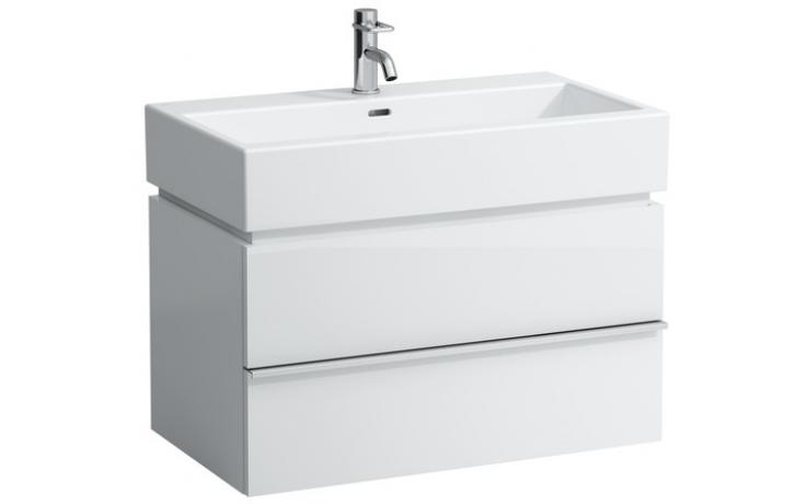 LAUFEN CASE skříňka pod umyvadlo 790x455x457mm 2 zásuvky, antracitový dub 4.0124.2.075.548.1