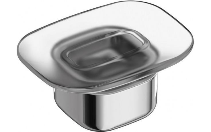 IDEAL STANDARD SOFTMOOD držák na mýdlo 118x95mm chrom/sklo A9141AA