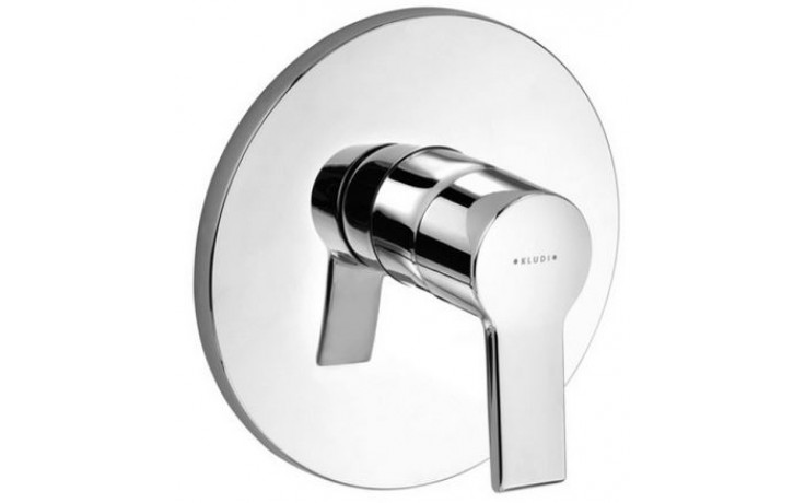 KLUDI O-CEAN baterie sprchová Ø170mm, podomítková, páková, chrom