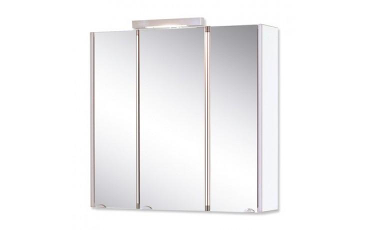 Nábytek zrcadlová skříňka Jokey Mondal III. 73x73x21 cm bílá