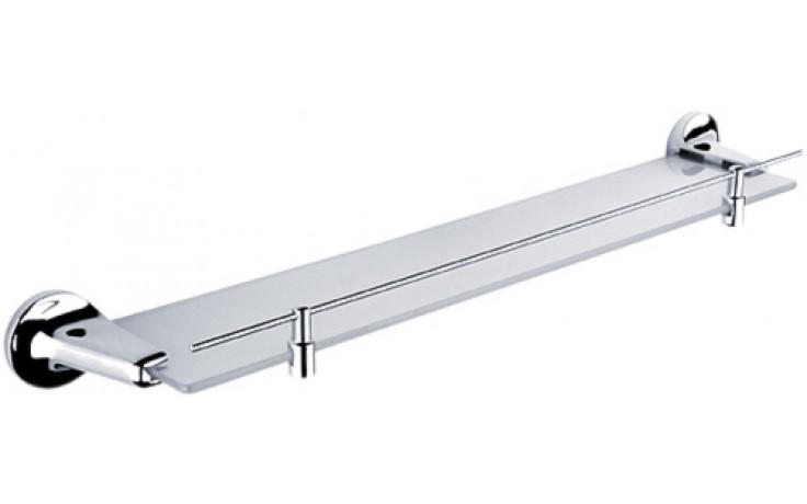 NIMCO MONOLIT polička s ohrádkou 580x55x115mm chrom MO 4091X-26