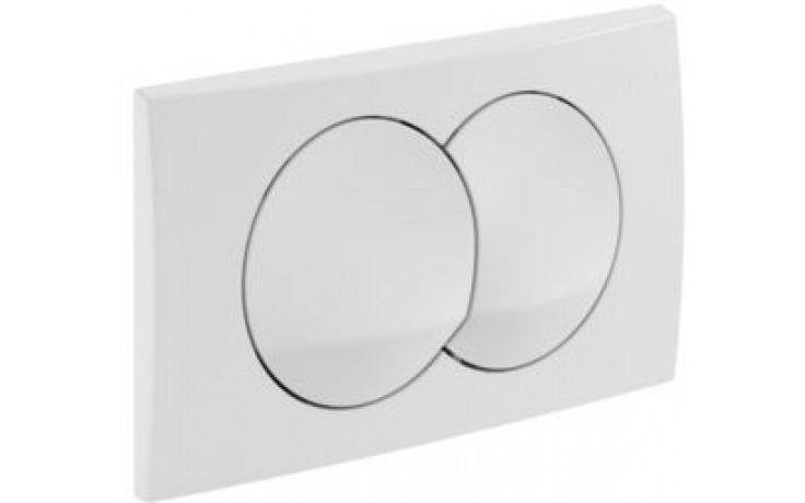 GEBERIT DELTA 20 ovládací tlačítko 24,6x16,4cm, Alpská bílá 115.100.11.1