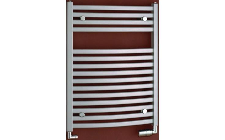 P.M.H. MARABU MSM4 koupelnový radiátor 600x1233mm, 541W, metalická stříbrná