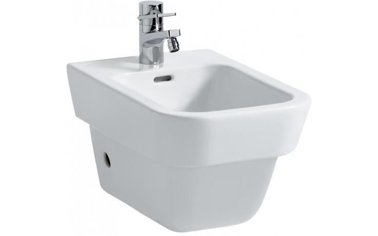 Bidet Laufen 1-otvorový Moderna Plus bez otvorů pro přívod vody bílá