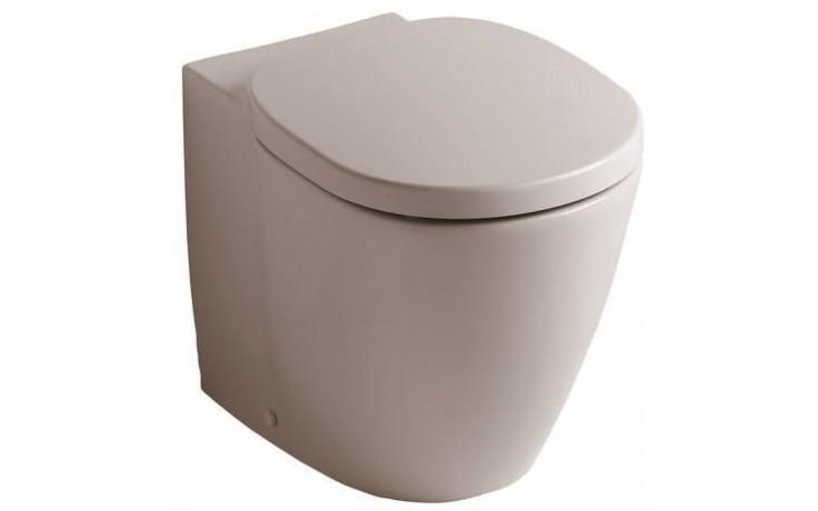 CONCEPT CUBE WC stacionární klozet 360x660mm bez nádržky, vodorovný odpad, bílá alpin