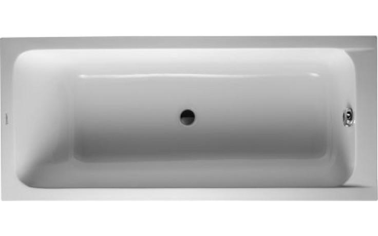 Vana plastová Duravit - D-Code odp. střed 170x75 cm bílá