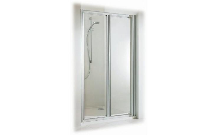 Zástěna sprchová dveře - plast Concept 100 1000x1900mm bílá/plast matný