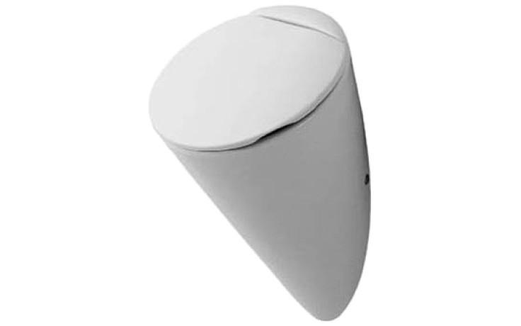 DURAVIT STARCK 1 urinal 320x285mm bez cílové mušky, bílá/wonder gliss 08353200001