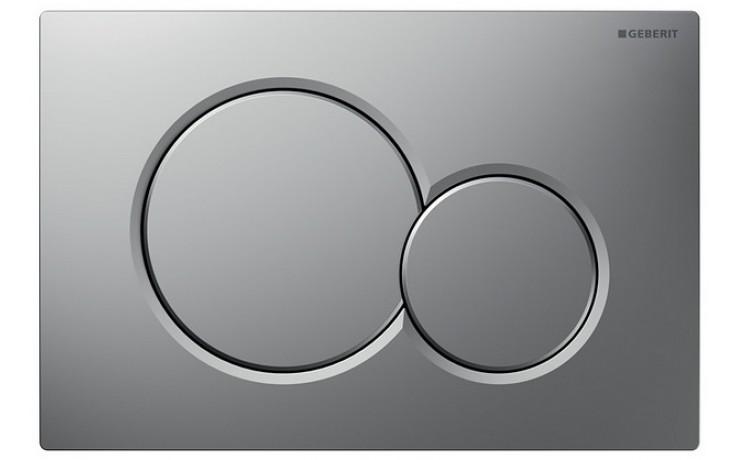 GEBERIT SIGMA 01 ovládací tlačítko 24,6x16,4cm, chrom mat 115.770.46.5