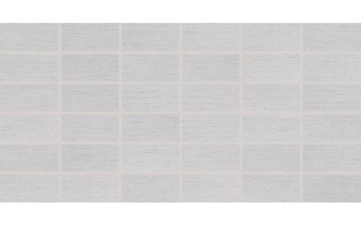 Dlažba Rako Fashion mozaika 5x10 (30x60) cm šedá matná