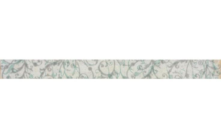 RAKO MANUFACTURA listela 40x3,5cm světle šedá WLAMH019